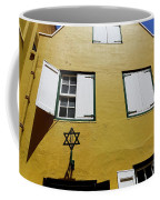 Courtyard Of Curacao Synagogue Mikve Israel-emanuel Coffee Mug
