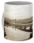 Very Long Covered Bridge Over A River Coffee Mug