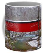 Covered Bridge Along The Wissahickon Creek Coffee Mug
