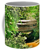 Covered Bridge At Lanterman's Mill Coffee Mug