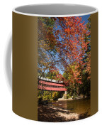 Covered Bridge Over The Swift River In Conway Coffee Mug