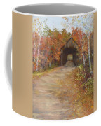 Covered Bridge  Southern Nh Coffee Mug by Jack Skinner