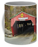 Covered Bridge Vermont Coffee Mug