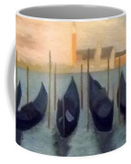 Covered Gondolas At Venice Coffee Mug