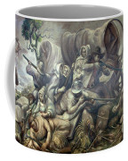 Covered Wagon Attacked By Indians Coffee Mug