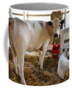 Cow And Little Calf Coffee Mug