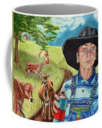Cow Tagging Coffee Mug