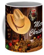 Cowboy Christmas Party - Merry Christmas Coffee Mug
