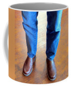 Cowboy Feet Coffee Mug