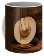 Cowboy Hat And Gear Coffee Mug