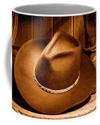 Cowboy Hat - Sepia Coffee Mug