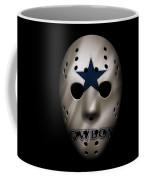 Cowboys War Mask 3 Coffee Mug