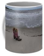 Cowgirl Day At Beach Coffee Mug