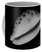 Cowry Shell In Black And White Coffee Mug