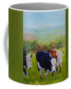 Cows And English Landscape Coffee Mug