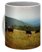 Cows At Doughton Park Coffee Mug