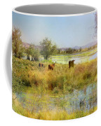 Cows In The Desert Coffee Mug