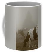 Cows In The Mist Coffee Mug