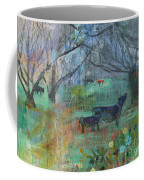 Cows In The Olive Grove Coffee Mug