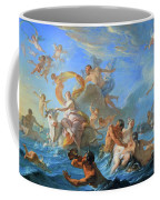 Coypel's The Abduction Of Europa Coffee Mug