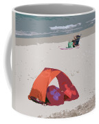 Cozy Hide-a-way For Two On A Florida Beach Coffee Mug