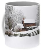 Cozy Snow Cabin Coffee Mug