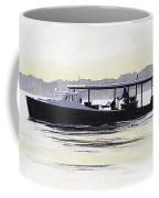 Crab Boat Slick Calm Day Chesapeake Bay Maryland Coffee Mug by G Linsenmayer