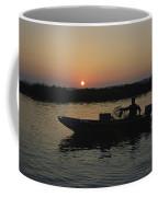 Crabbing Off Delacroix Island Coffee Mug by Medford Taylor