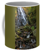 Crabtree Falls In Autumn Coffee Mug