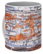 Cracked Wood Paint Coffee Mug