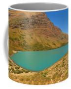 Cracker Lake Many Glacier Panorama Coffee Mug