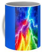 Rainbow Color Lightning Coffee Mug