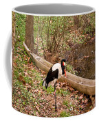 Crane And Canoe Coffee Mug