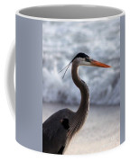 Crane By The Sea Coffee Mug