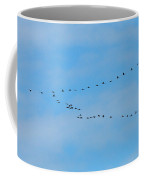 Crane Formation Coffee Mug