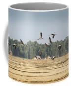 Cranes Over Ethiopia Coffee Mug