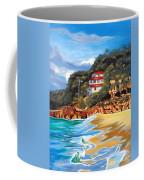 Crash Boat Beach Coffee Mug by Milagros Palmieri