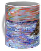 Crashing Of The Waves Coffee Mug