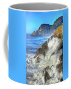 Crashing Waves 100 Coffee Mug