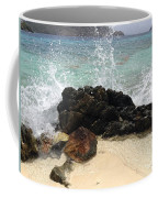 Crashing Waves At Sugar Beach Coffee Mug