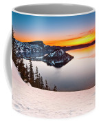 Crater Lake Dawn Coffee Mug