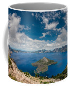 Crater Lake From Watchman Overlook Coffee Mug