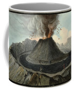 Crater Of Mount Vesuvius, Before 1767 Coffee Mug