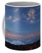 Crater Sunset Coffee Mug