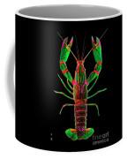Crawfish In The Dark - Greenred Coffee Mug