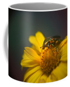 Crawling June Beetle Coffee Mug