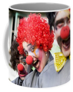 Crazy Circus Clowns Coffee Mug