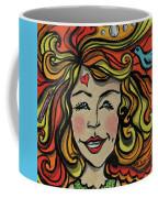 Crazy Hair Coffee Mug