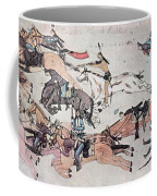 Crazy Horse At The Battle Of The Little Coffee Mug