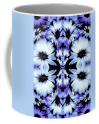 Crazy Lavender Daises Coffee Mug